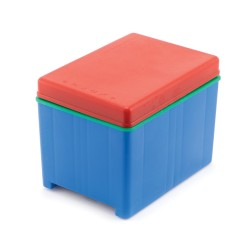 Mini Plus beehive with a double-function bottom, polystyrene